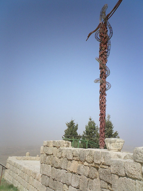Brazen Serpent sculpture