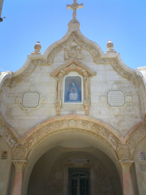 Milk Grotto Chapel