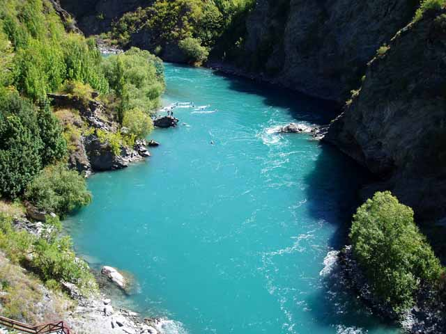 River in Queenstown