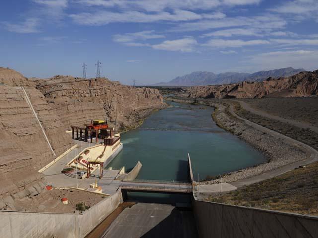 Quebrada de Ullum Dam