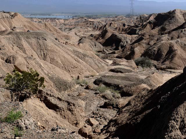 Formaciones rocosas en Ullum