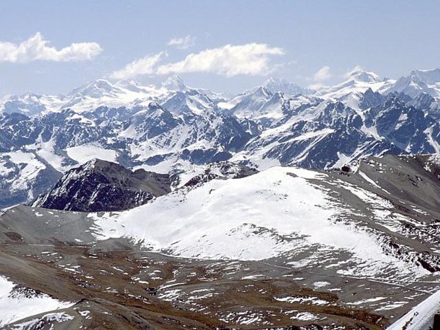 Vista del Chacaltaya