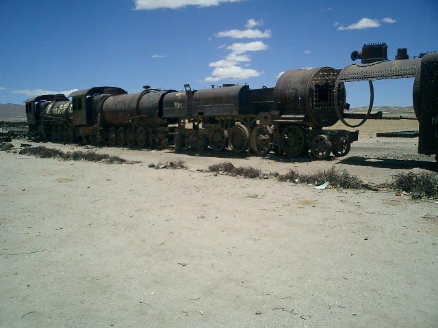Train cimetery