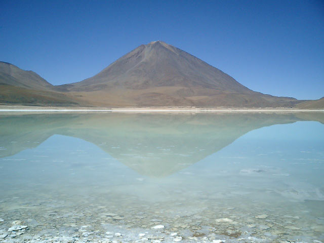 Bleu lake