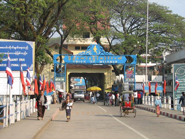 Burma border