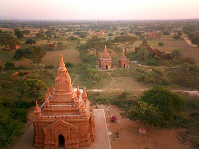 Pagan temples