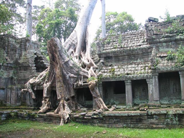 Preah Khan monastic complex