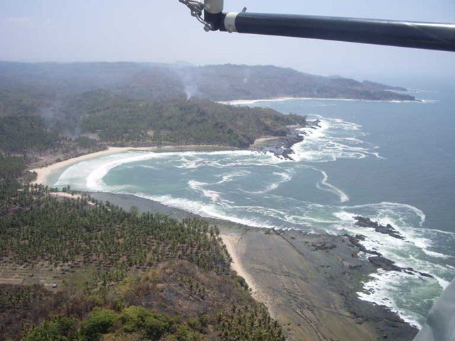 Sawarna Surfing place