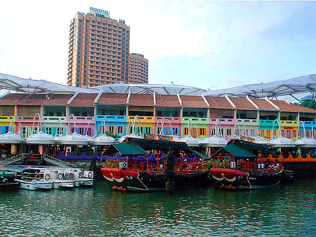 Colorful Clarke Quay