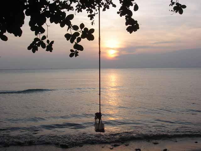 Sunset on Kai Bae Beach