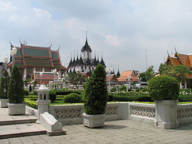 Category Bangkok Wat Ratchanaddaram