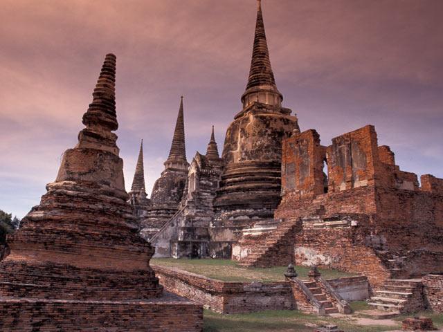Ayutthaya ruins