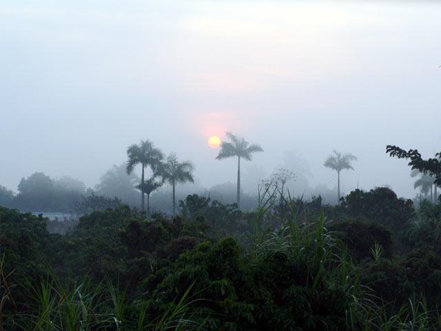 Sunrise at Baan Hom