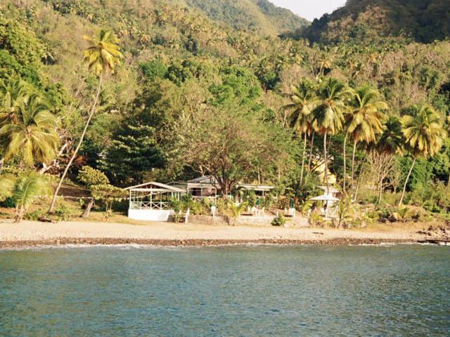 Saint Lucia coast