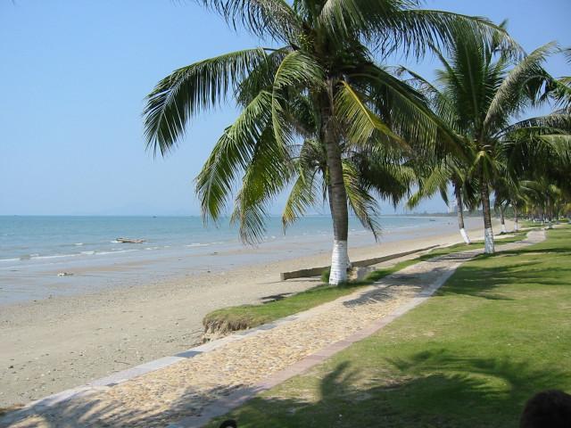 Haïkou beach