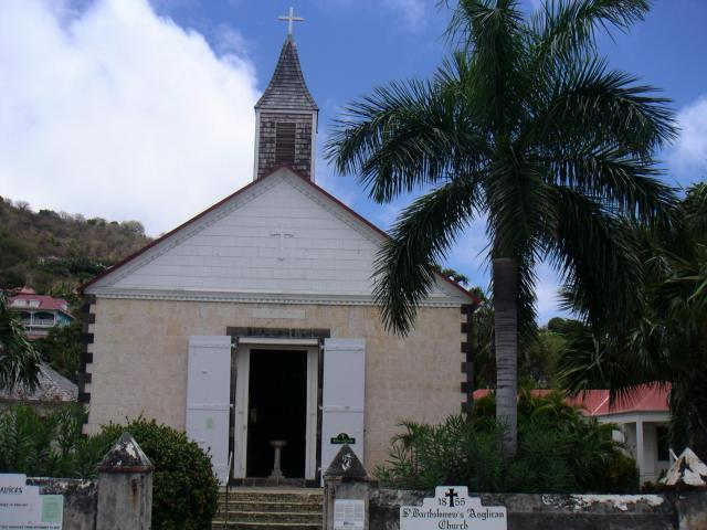 Gustavia Anglican church