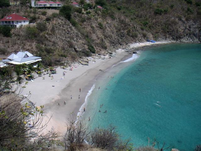 Gustavia Shell beach